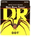 DR Strings DDT-10 Drop-Down Tuning Electric Strings (.010-.046 Medium)