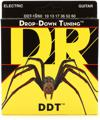 DR Strings DDT-10/60 Drop-Down Tuning Electric Strings (.010-.060 Big-Heavy)