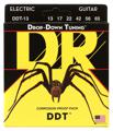 DR Strings DDT-13 Drop-Down Tuning Electric Strings (.013-.065 Mega Heavy)