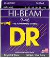 DR Strings LHR-9 Hi-Beam Nickle Plated Electric Strings (.009-.046 Lite-Heavy)
