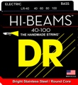 DR Strings LR-40 Hi-Beam Bass Guitar Strings (.040-.100 Light)