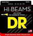 DR Strings MLR-45 Hi-Beam Bass Guitar Strings (.045-.100 Medium Light)