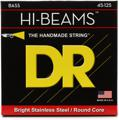 DR Strings MR5-45 Hi-Beam Bass Guitar Strings (.045-.125 Med 5-String)
