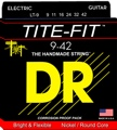 DR Strings LT-9 Tite-Fit Electric Strings (.009-.042 Lite)