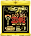 Ernie Ball 2158 Coated Slinky Acoustic Strings (.011-.052 Light)
