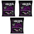 Ernie Ball 2720 Cobalt Power Slinky Electric Strings (.011-.048 3-Pack)