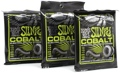 Ernie Ball 2721 Cobalt Regular Slinky Electric Strings (.010-.046 3-Pack)