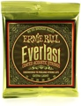Ernie Ball 2560 Everlast Coated 80/20 Acoustic Strings (.010-.050 Extra Light)
