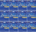 Elixir Strings Nanoweb Electric Strings (.010-.052 12-Pack)