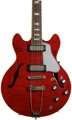 Gibson Memphis ES-390 Figured (Vintage Cherry )