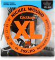 D'Addario ESXL110 Double Ball End Electric Strings (.010-.046 Light)