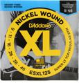 D'Addario ESXL125 Double Ball End Electric Guitar Strings (.009-.046 XL Top/Reg Bottom)