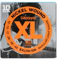 D'Addario EXL110 Nickel Wound Electric Guitar Strings (.010-.046 Regular Light 10-Pk)