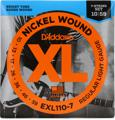 D'Addario EXL110-7 Nickel Wound Electric Guitar Strings (.010-.059 Regular Light 7-Str)
