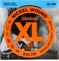 D'Addario EXL110 Nickel Wound Electric Guitar Strings (.010-.046 Regular Light)