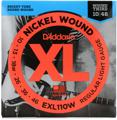 D'Addario EXL110W Nickel Wound Electric Guitar Strings (.010-.046 Light with wound 3rd)