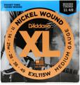 D'Addario EXL115W Nickel Wound Electric Guitar Strings (.011-.049 Blues/Jazz Wnd 3rd)