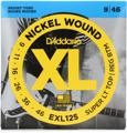 D'Addario EXL125 Nickel Wound Electric Guitar Strings (.009-.046 Super Lt/Reg Btm)
