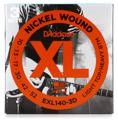 D'Addario XL140 Nickel Wound Electric Guitar Strings (.010-.052 Lt Top/Hvy Btm 3-Pk)