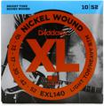 D'Addario XL140 Nickel Wound Electric Guitar Strings (.010-.052 Lt Top/Hvy Btm)