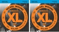 D'Addario EXL160 Nickel Wound Long Scale Bass Strings (.050-.105 Medium 2-Pack)