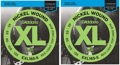 D'Addario EXL165-5 Nickel Wound Long Scale Bass Strings (.045-.135 5-String 2-Pack)