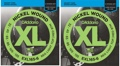 D'Addario EXL165-6 Nickel Wound Long Scale Bass Strings (.032-.135 6-String 2-Pack)