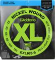 D'Addario EXL165-6 Nickel Wound Long Scale Bass Strings (.032-.135 Lt Top/Med Btm 6-St)