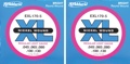 D'Addario EXL170-5 Nickel Wound Long Scale Bass Strings (.045-.130 Light 5-String 2-Pack)