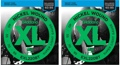 D'Addario EXL220BT Balanced Tension Nickel Bass Strings (.040-.095 Extra Light 2-Pack)