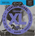 D'Addario EXP115 Coated Electric Strings (.011-.049 Blues/Jazz Rock)