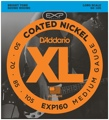 D'Addario EXP160 Coated Bass Strings (.050-.105 Medium)