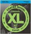 D'Addario EXP165 Coated Bass Strings (.045-.105 Lt Top/Med Bottom)