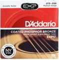 D'Addario EXP17 Coated Phosphor Bronze Acoustic Strings (.013-.056 Medium)