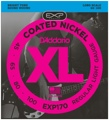 D'Addario EXP170 Coated Bass Strings (.045-.100 Light)