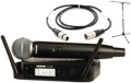 Shure GLXD24/Beta 58 Mic Month 2013 Bundle (Beta58 w/Stand & Cable)