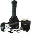 Squier J Bass Pack with Rumble Amp (Black)