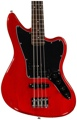 Squier Vintage Modified Jaguar Bass Special (Crimson Red Transparent)