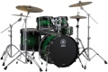 Yamaha 4 Piece Live Custom Shell Pack (Emerald Shadow Sunburst)