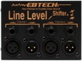 Ebtech Line Level Shifter LLS-2-XLR
