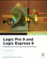 Peachpit Press Logic Pro 9 and Logic Express 9