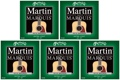 Martin M1000 Marquis 80/20 Bronze Acoustic Guitar Strings (.010-.047 Extra Light 5-Pack)