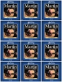 Martin M150 80/20 Bronze Acoustic Guitar Strings (.013-.056 Medium 12-Pack)