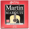 Martin M1700 Marquis 80/20 Bronze Acoustic Guitar Strings (.012-.054 Light 12-String)