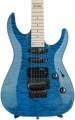 ESP LTD MH-103QM (See Thru Blue)