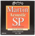 Martin MSP3150 SP 80/20 Bronze Acoustic Guitar Strings (.0125-.055 Light/Medium)