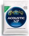 Martin MSP4000 SP 92/8 Phosphor Bronze Acoustic Strings (.010-.047 Extra Light)