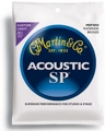 Martin MSP4050 SP 92/8 Phosphor Bronze Acoustic Strings (.011-.052 Cst. Light)