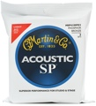 Martin MSP4100 SP 92/8 Phosphor Bronze Acoustic Strings (.012-.054 Light 3-Pack)