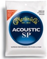 Martin MSP4150 SP 92/8 Phosphor Bronze Acoustic Strings (.0125-.055 Light/Medium)